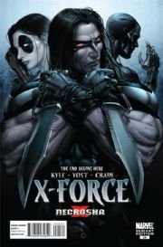 X-Force #24 Clayton Crain Retail Variant X-Necrosha (2009) Marvel comic book